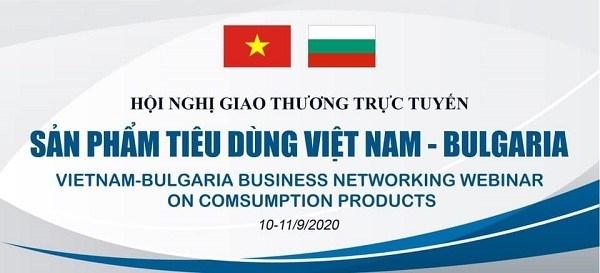 10-11/9: Hội nghị giao thương trực tuyến sản phẩm tiêu dùng Việt Nam - Bulgaria