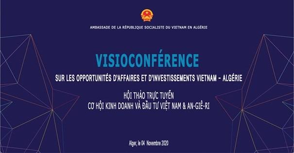 Tăng cường xúc tiến thương mại, đầu tư Việt Nam-Algeria