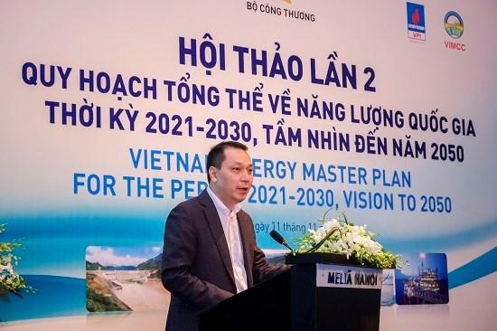 Hội thảo lần 2 Quy hoạch Tổng thể về Năng lượng Quốc gia thời kỳ 2021-2030