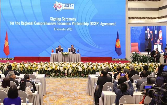 ASEAN 2020: Giới chuyên gia khu vực đánh giá cao việc ký kết RCEP
