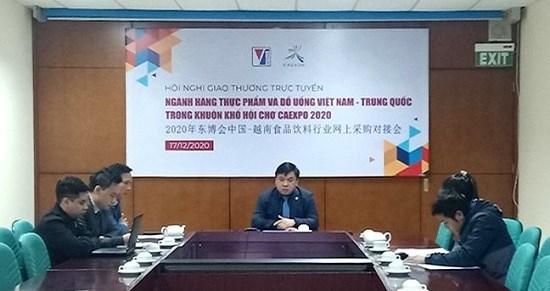 Giao thương trực tuyến doanh nghiệp Việt Nam – Trung Quốc