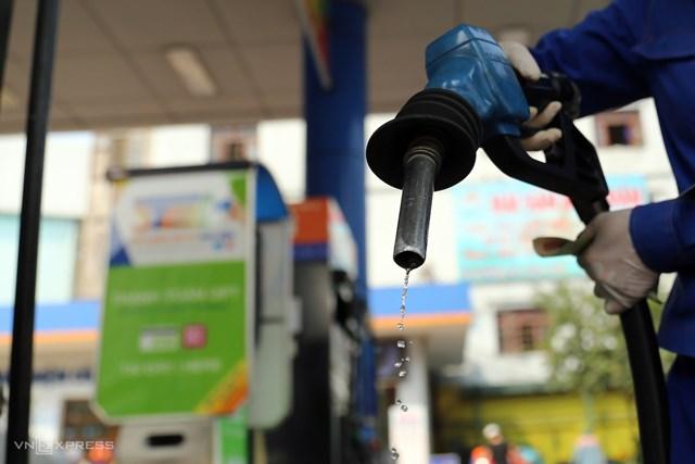 Thông tin điều hành xăng dầu