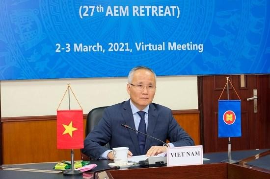 Hội nghị Bộ trưởng Kinh tế ASEAN hẹp lần thứ 27