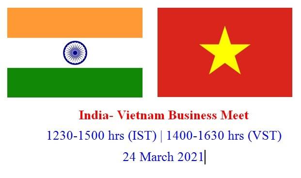 Mời tham dự giao thương trực tuyến với thị trường Ấn Độ ngày 24.03.2021