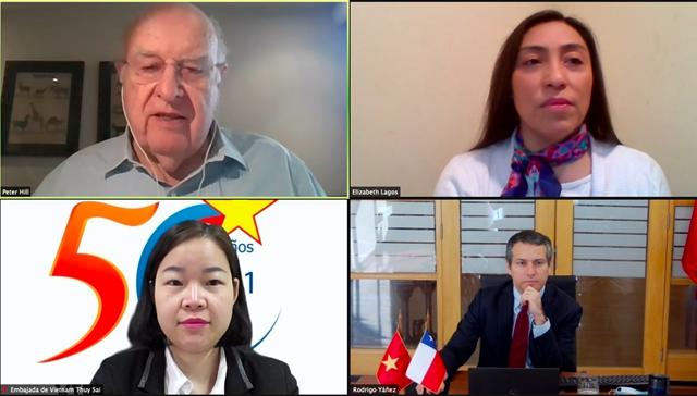 Diễn đàn doanh nghiệp Việt Nam – Chile năm 2021