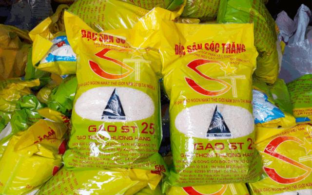 Gạo ST25 đứng vững tại thị trường Mỹ