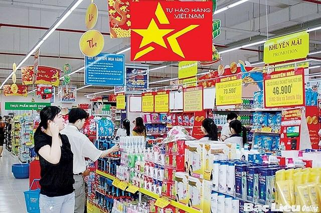 Phát triển thị trường trong nước gắn với Cuộc vận động Người Việt Nam ưu tiên dùng hàng Việt Nam
