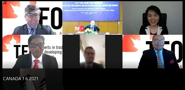 Lễ Ký thỏa thuận hợp tác giữa Cục XTTM (Bộ Công Thương Việt Nam) và Tổ chức Xúc tiến TM TFO (Canada)