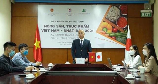"""Tạo """"lực bẩy"""" cho nông sản, thực phẩm Việt Nam tiến sâu vào thị trường Nhật Bản"""