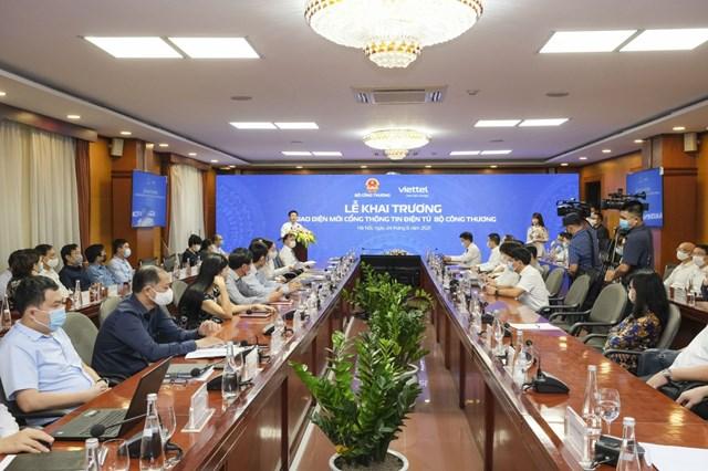 Lễ khai trương Giao diện mới Cổng Thông tin điện tử Bộ Công Thương