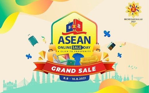 Khởi động Chương trình Ngày mua sắm trực tuyến lớn nhất ASEAN 2021