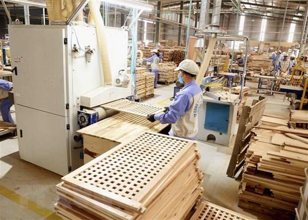 Xuất khẩu gỗ Việt Nam tăng trưởng vượt trội trong bối cảnh dịch