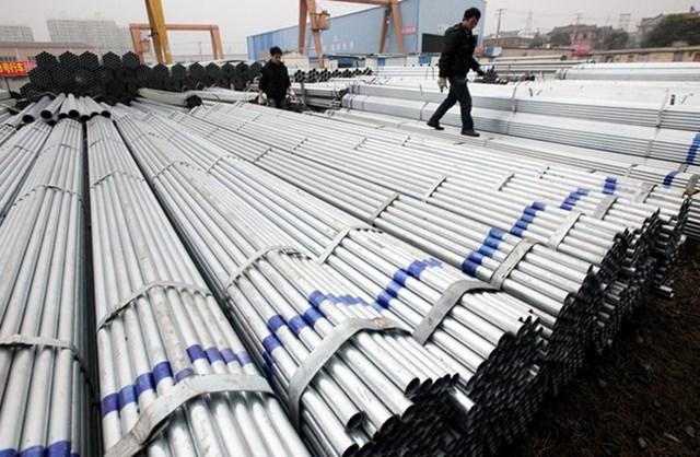 Thép Trung Quốc chiếm hơn nửa lượng thép nhập khẩu vào Việt Nam