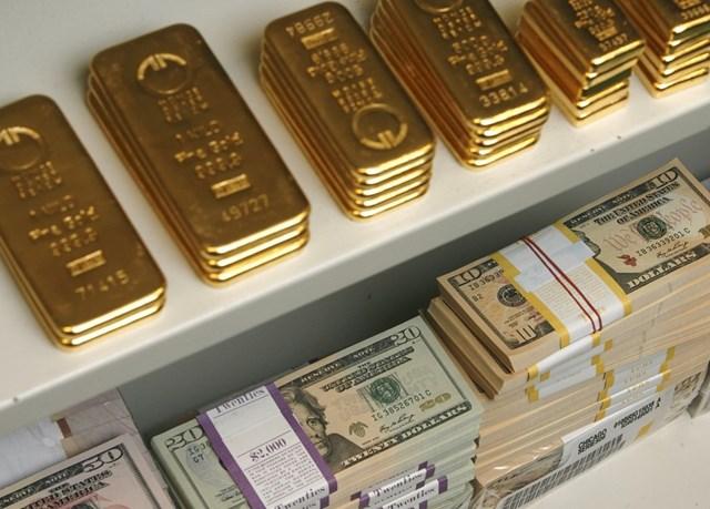 Giá vàng và tỷ giá ngày 23/3: vàng giảm, USD tăng