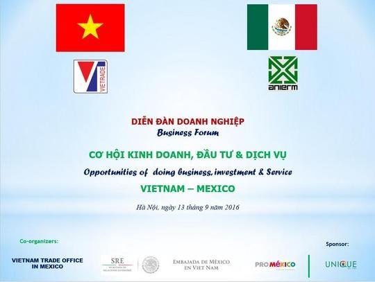 Giao thương với đoàn doanh nghiệp xuất nhập khẩu đa ngành Mexico