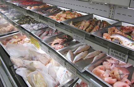 Điều kiện kinh doanh tạm nhập, tái xuất hàng thực phẩm đông lạnh