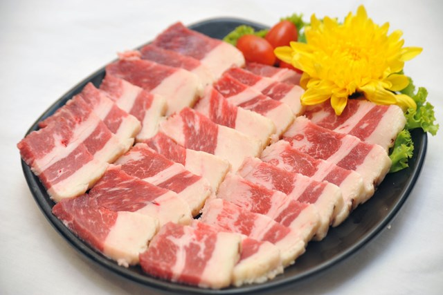 Giá thịt tại một số tỉnh ngày 22/7/2016