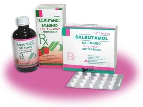 Công khai thông tin các đơn vị nhập khẩu chất Salbutamol