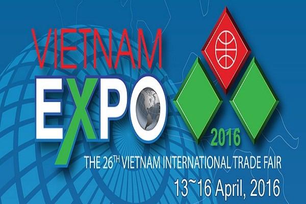 30/11 - 03/12/2016: Hội chợ Thương mại quốc tế Việt Nam lần 14 tại TP. Hồ Chí Minh