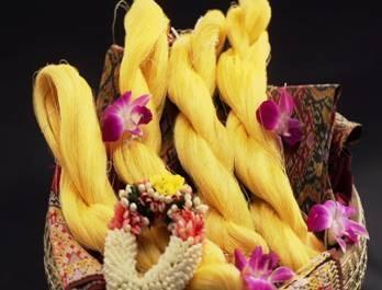 Cần nhập khẩu mặt hàng tơ tằm thô và que tre sản xuất hương