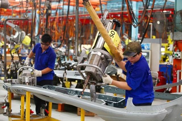Sản xuất công nghiệp cả nước tháng đầu năm tăng 0,7%