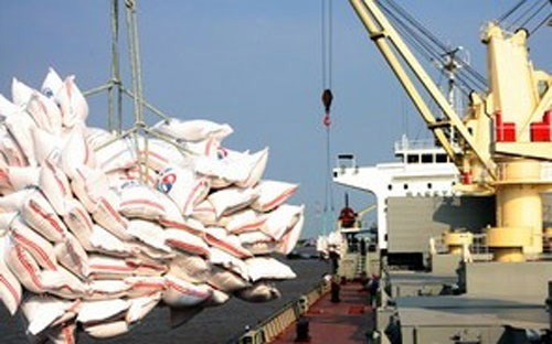 Xuất khẩu gạo tháng đầu năm 2017 giảm mạnh
