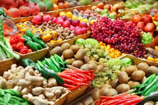 Rau quả nhập khẩu chủ yếu từ Thái Lan và Trung Quốc