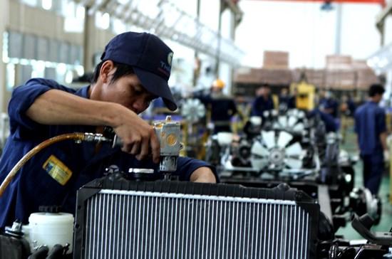 Quý I, chỉ số sản xuất công nghiệp tăng 4,1%