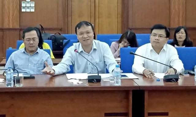 Thứ trưởng Đỗ Thắng Hải làm việc với Công ty Cổ phần ô tô TMT