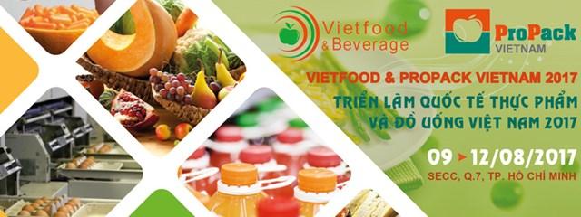 9-12/8: Triển lãm Quốc tế Thực phẩm và Đồ uống Việt Nam 2017