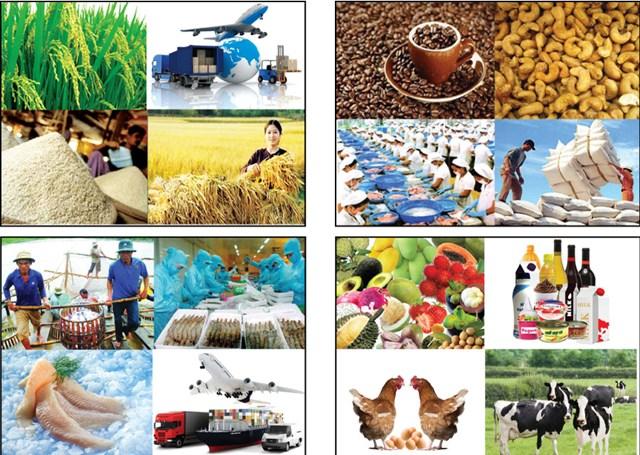 4 tháng đầu năm 2017, xuất khẩu nông lâm thủy sản đạt 10,8 tỷ USD