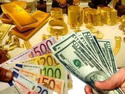 Giá vàng, tỷ giá 25/5/2017: vàng thế giới giảm, vàng trong nước tăng nhẹ