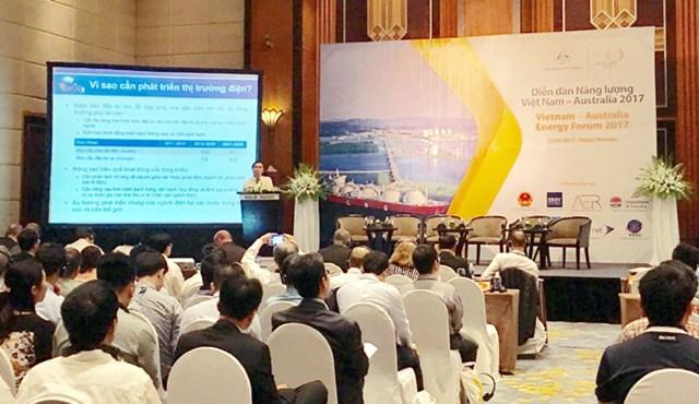 Việt Nam - Australia thúc đẩy hợp tác năng lượng
