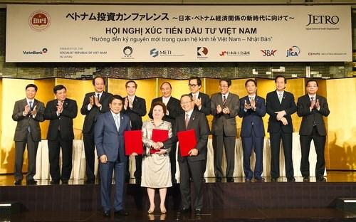 Việt - Nhật ký các hợp đồng đầu tư trị giá 22 tỷ USD