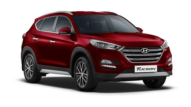 Giá ô tô Hyundai tháng 10/2017: Hyundai Tucson giảm còn 770 triệu đồng