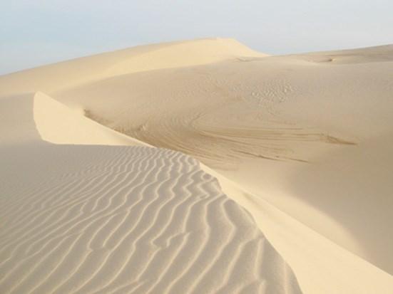 Dừng thủ tục hải quan xuất khẩu cát trắng silica