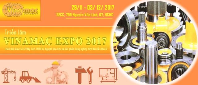 29/11-2/12: Mời tham dự triển lãm Vinamac Expo 2017 tại TPHCM