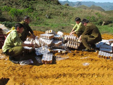 Tăng cường chống buôn lậu khu vực biên giới Lai Châu