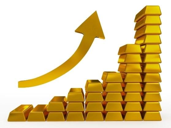 Giá vàng, tỷ giá 2/1/2018: vàng trong nước tăng mạnh cùng với vàng thế giới