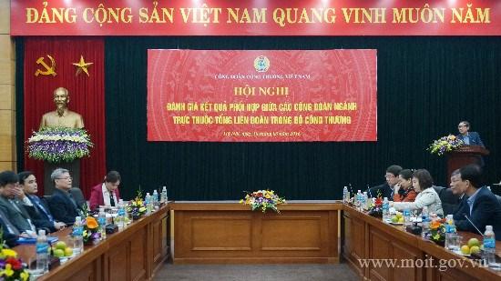 Công đoàn Công Thương Việt Nam: Đồng hành cùng người lao động