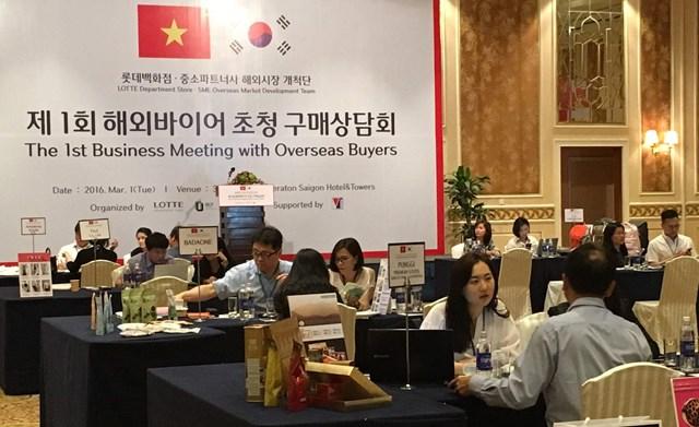 22/3: Mời tham gia Chương trình giao thương doanh nghiệp Việt Nam - Hàn Quốc