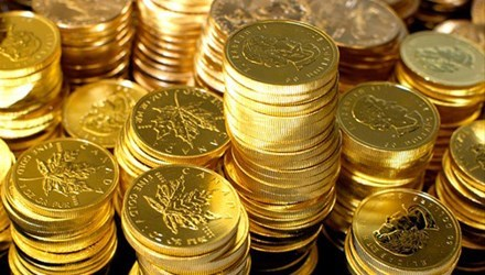 Giá vàng, tỷ giá 10/5/2018: Vàng trong nước tăng, thế giới giảm