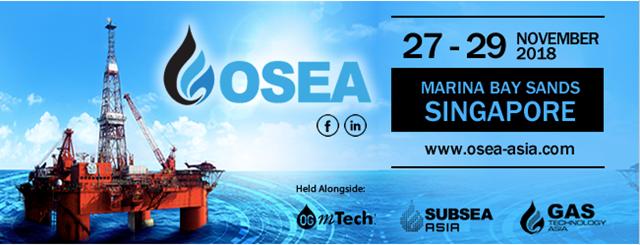 27-29/11: Mời tham dự hội chợ về dầu khí OSEA 2018