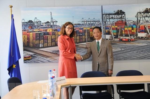 Kết thúc rà soát pháp lý Hiệp định Thương mại tự do Việt Nam và EU