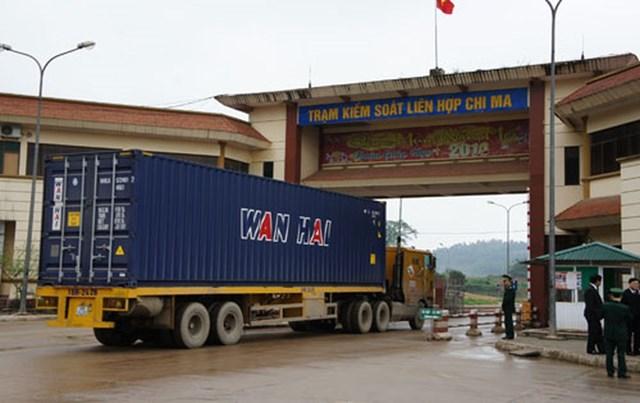 Sắp mở chính thức cặp cửa khẩu Chi Ma (VN) – Ái Điểm (Trung Quốc)