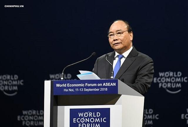 Phiên khai mạc toàn thể WEF ASEAN 2018