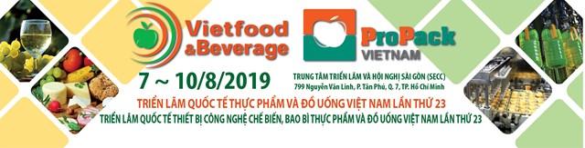 7-10/8/2019: Triển lãm Quốc tế Thực phẩm – Đồ uống tại TPHCM