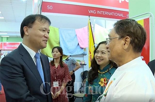 Việt Nam và Myanmar: Tiến đích kim ngạch thương mại song phương 1 tỷ USD