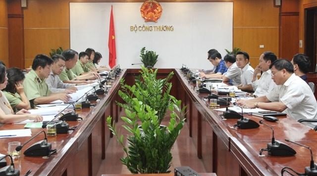 Văn phòng thường trực BCĐ 389 Quốc gia làm việc tại Bộ Công Thương