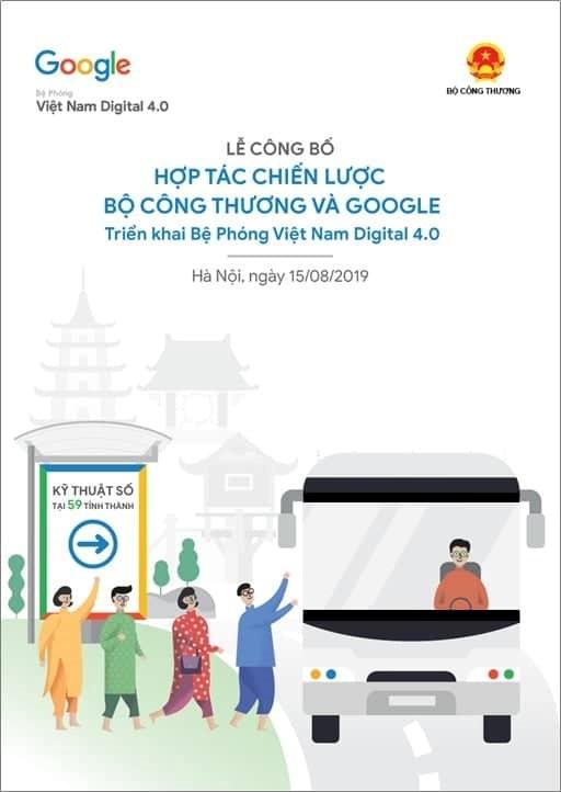 15/8:Lễ công bố hợp tác Bộ Công Thương và Google - Bệ phóng VN Digital 4.0